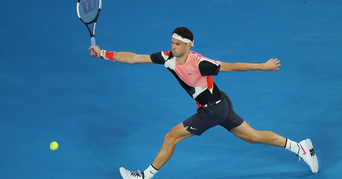 Tennis TV: Удар на Григор Димитров намери място в нова престижна класация