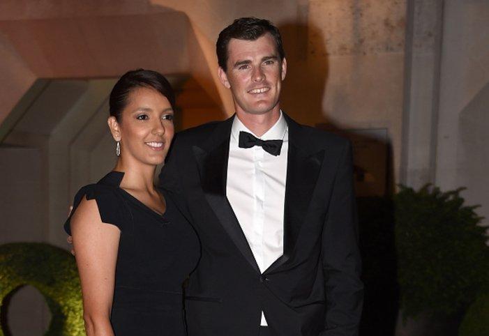 Джейми Мъри и жена му