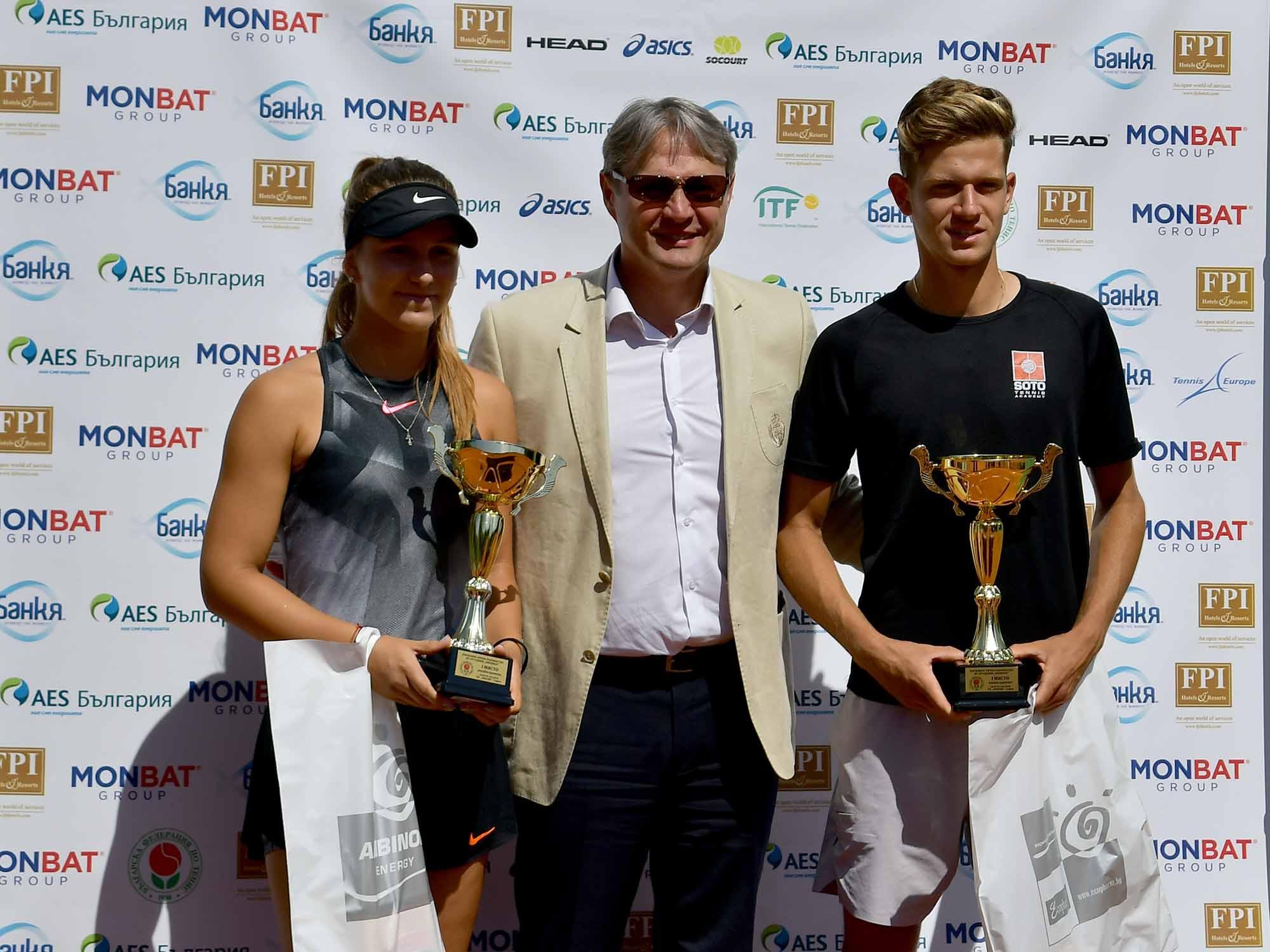 Симон-Антони Иванов и Гергана Топалова спечелиха Държавното първенство